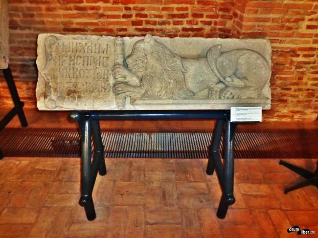 Pisanie cu leu de la Mănăstirea Negru Vodă, Câmpulung Muscel