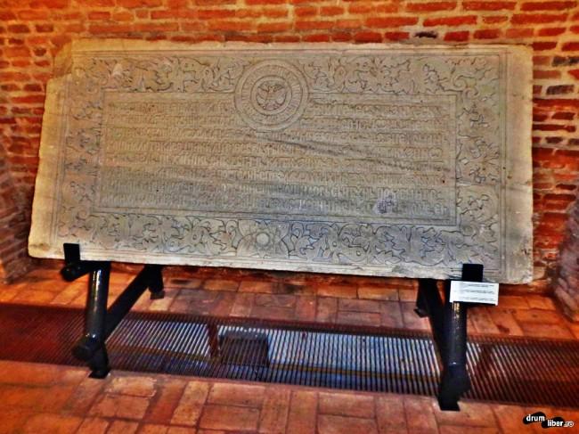 Pisanie din parclisul Mănăstirii Comana, Giurgiu