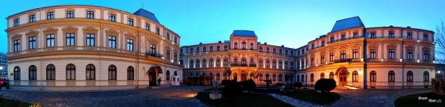 Muzeul Colecțiilor de Artă, o frumoasă panoramică