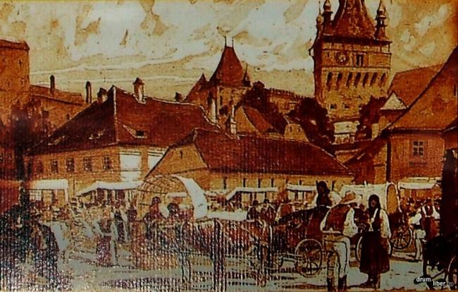 Sighișoara la 1860