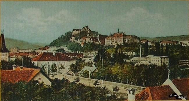 În 1912 așa arăta Sighișoara