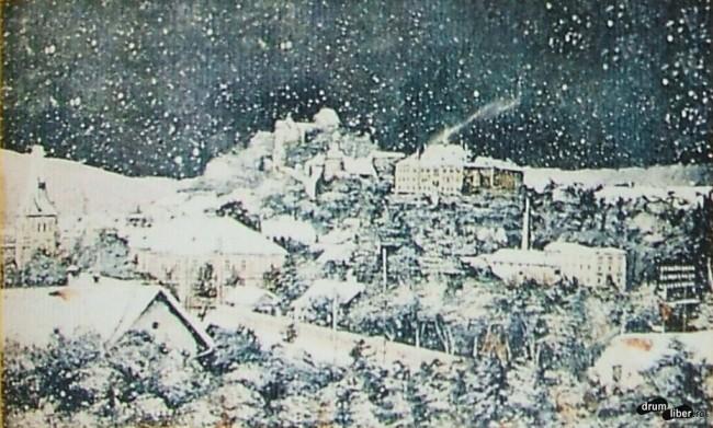 Sighișoara din trecut în Ajunul Crăciunului - 1909