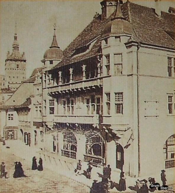 Fosta casă a meseriașilor - 1906