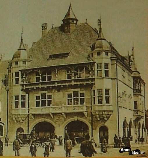 Fosta casă a meseriașilor - 1910