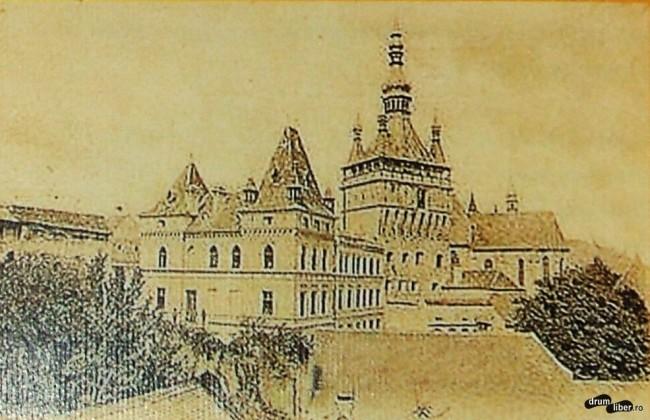 Fosta Casă Albert, apoi internatul liceului - 1899