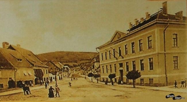 Fosta școală de fete - 1907