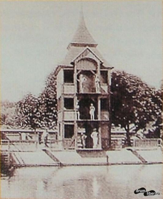 Fosta școală de înot - 1920