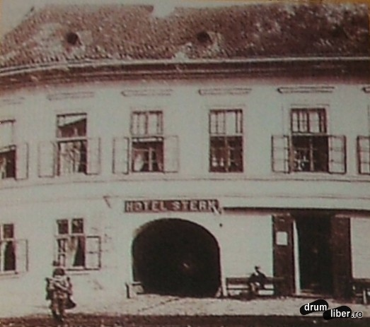 Hotelul și restaurantul Steaua - 1910