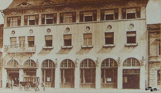 Hotelul și restaurantul Steaua - 1913