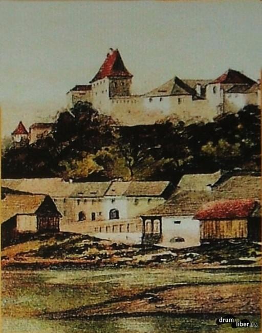 Turnul Bugnarilor (Caretașilor) în 1880