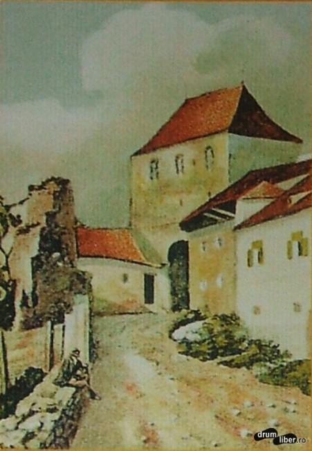 Turnul Croitorilor din Sighișoara la 1880