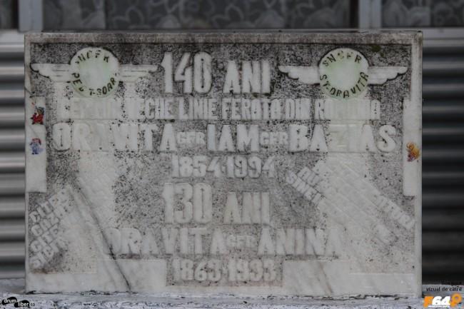 La 140 de ani de la calea ferată Oravița - Baziaș