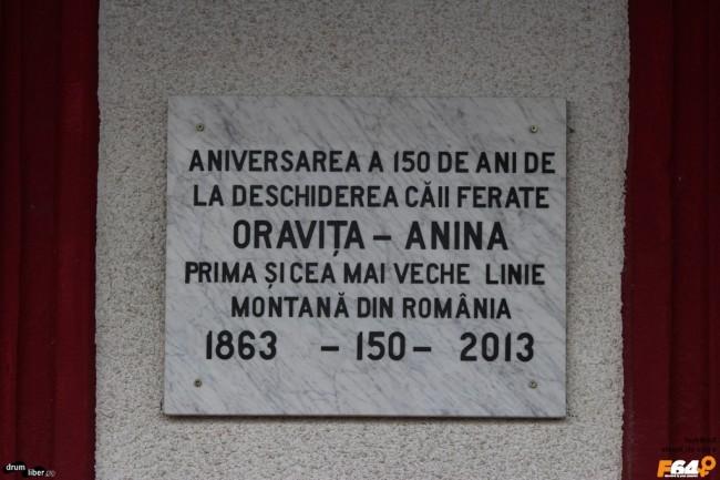 150 de ani de la deschiderea căii Oravița - Anina