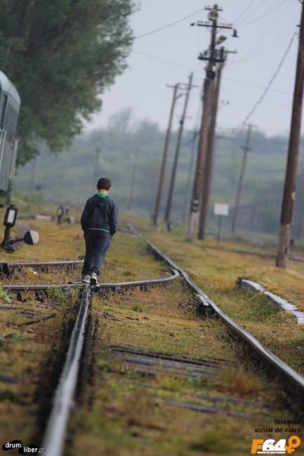 În gară la Oravița