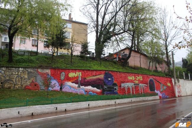 Graffiti în Anina