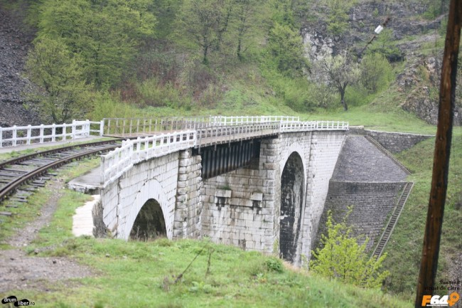 Viaductul Schlucht, spre Anina