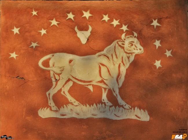 Taur pe Blocul Zodiac