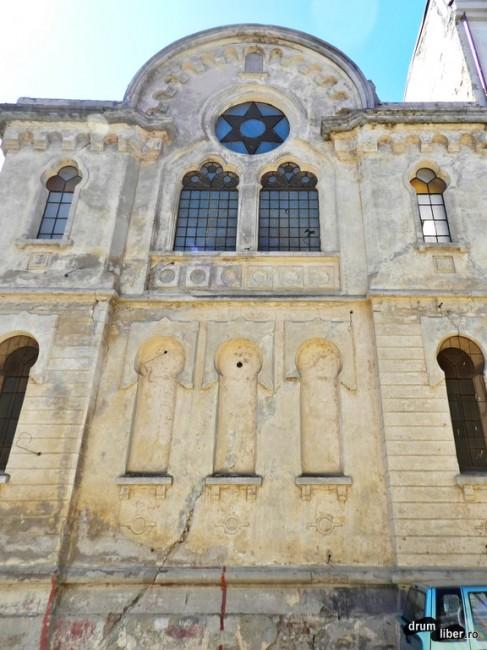 Sinagoga Mare, o ruină