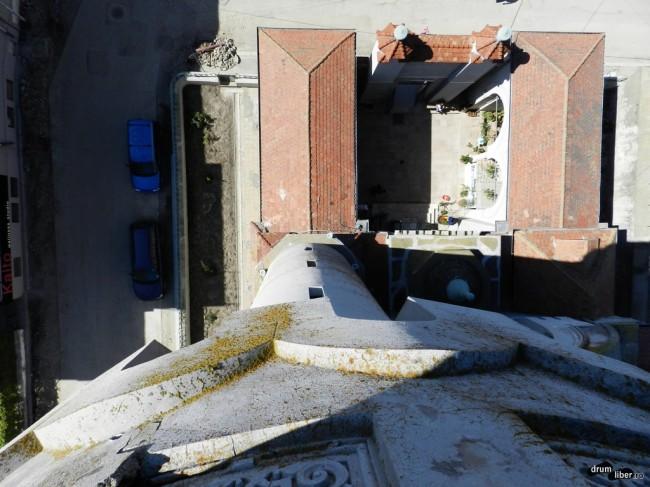 Moscheea Carol I, vedere de sus