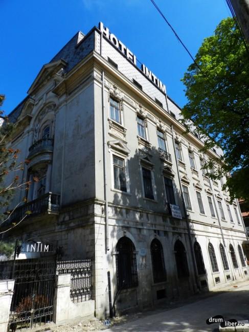 Hotel Intim, aici a stat Eminescu