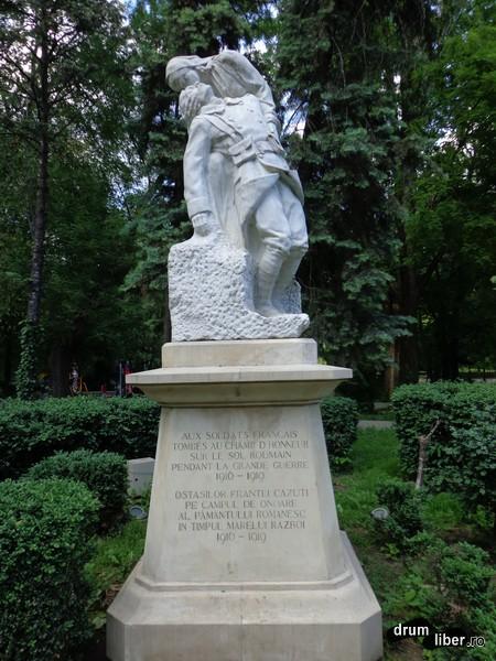 Monumentul soldatului francez (Grădina Cișmigiu)