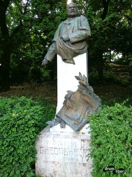 Bustul lui Gheorghe Panu (Grădina Cișmigiu)