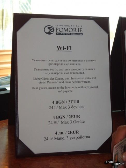 2 euro pe zi pentru internet la 5 stele