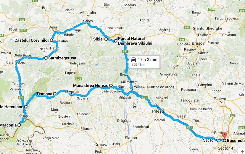 Cum Să Faci Un Circuit Spre Clisura Dunării Cazanele Dunării