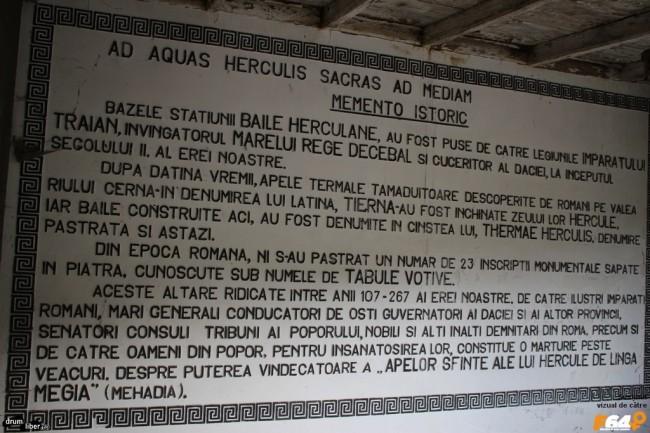 Istoria tabulelor votive romane din Herculane