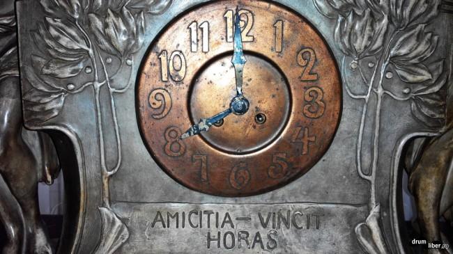 Ceasul Prieteniei la Muzeul Ceasului din Ploiești