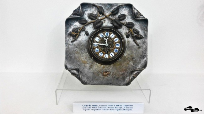 Ceasul lui Sadoveanu