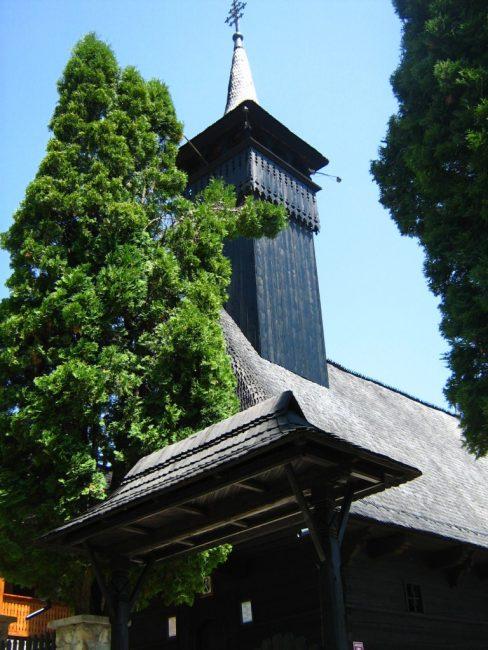 Poza din exterior cu Biserica lui Horea (Biserica din Albac)