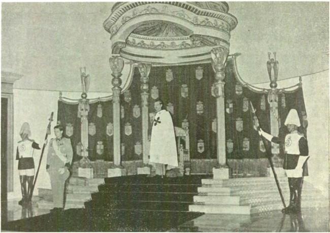 Cum arăta tronul regal românesc după renovările din 1937