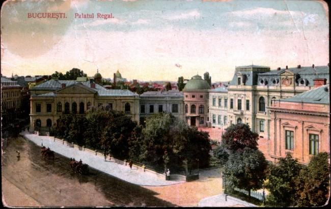 Palatul regal în 1913