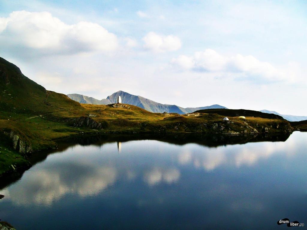 Deasupra de Lacul Bâlea