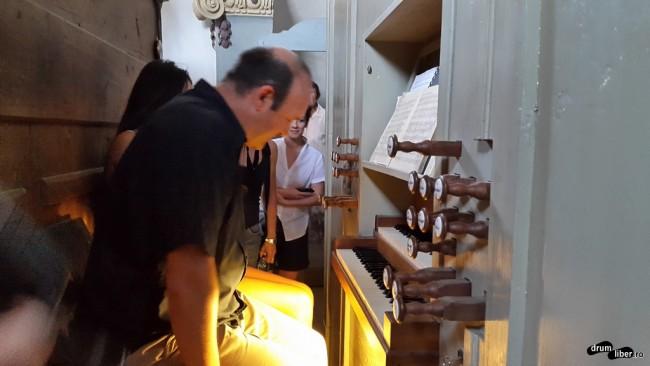Concert de orgă în Biserica Fortificată din Criț