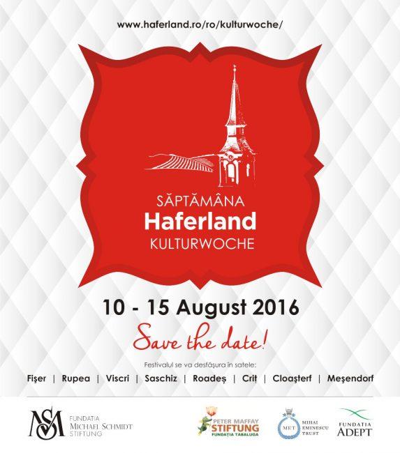 Haferland 2016 - Țara Ovăzului - O săptămână cu și despre cultura săsească din Transilvania