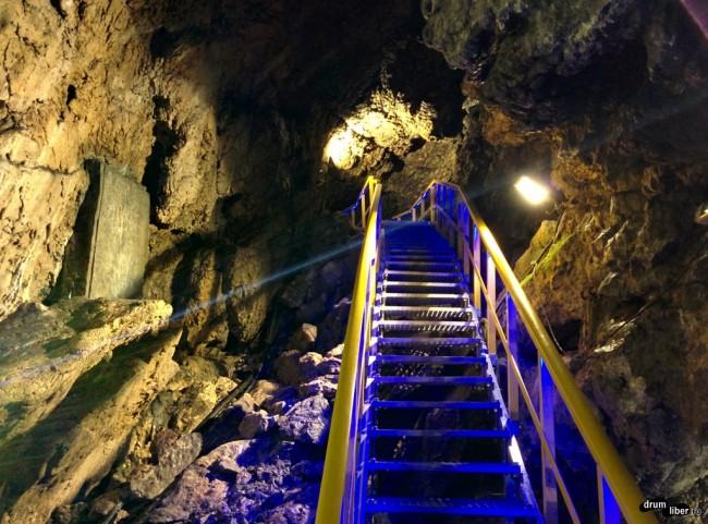Peștera Ialomiței Modernizată în 2015