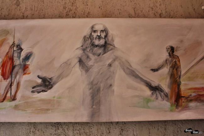 Iisus Hristos creionat