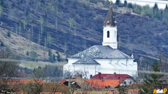Biserica nouă din Ghelința
