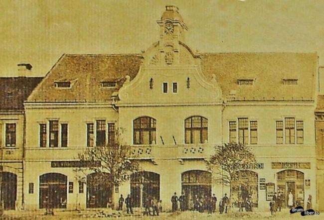 Poze vechi din Reghin - Primăria în anul 1910