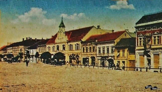 Poze vechi din Reghin - Primăria în anul 1912