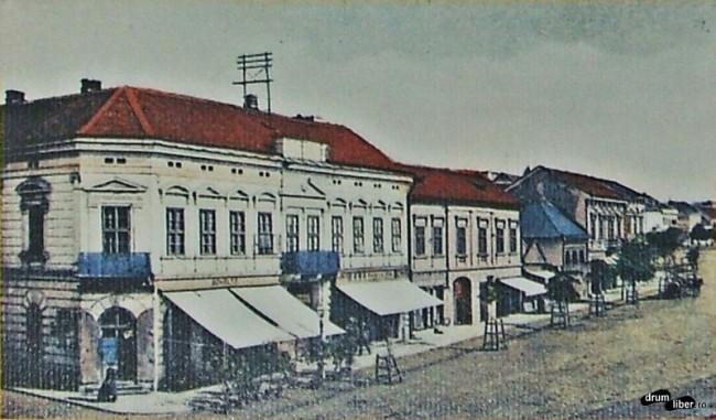 Poze vechi din Reghin - fabrica de trăsuri în 1915