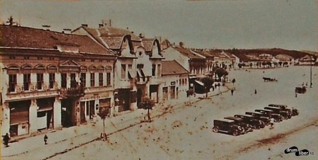 Poze vechi din Reghin - în 1937 erau deja automobile în Reghin