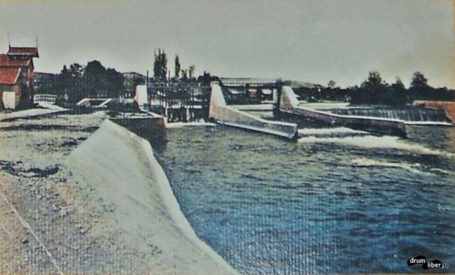În 1931 era deja constuit un baraj pe Mureș
