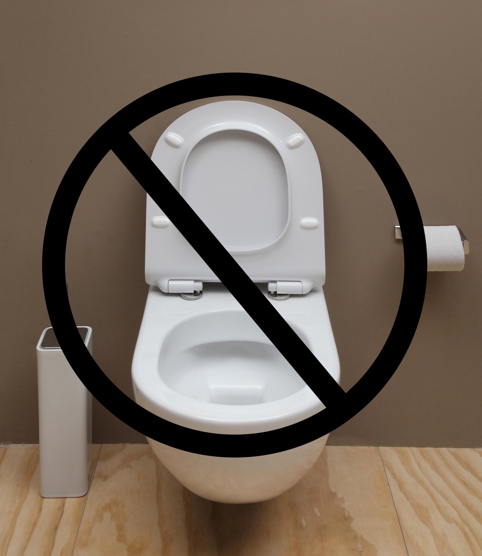 Constipația: interzis la WC