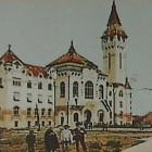 Prefectura fosta primarie actual palat administrativ prefectura cj mures ridicata 1907 - foto 1909