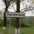 Charlotenburg, indicatorul de la intrare